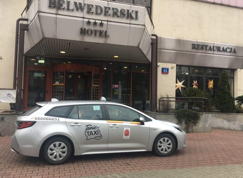Taksówka Warszawa cena